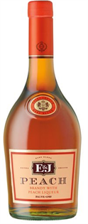 E & J Brandy Peach 750ml